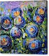 Roses Are Blue  Acrylic Print