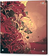 Roses Are Forever Acrylic Print