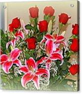 Rose's Acrylic Print