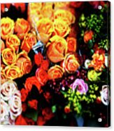 Roses Bouquet Acrylic Print