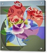 Roses For Her Acrylic Print