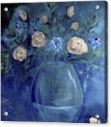 Roses For Him Painting Acrylic Print