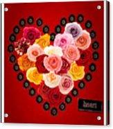 Roses For My Dear Love Acrylic Print