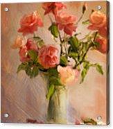 Roses La Belle Acrylic Print