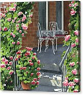 Roses On High St Acrylic Print