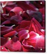 Rose Waves Acrylic Print