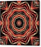Rosette Fireburst Acrylic Print