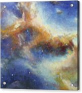 Rosette Nebula Acrylic Print