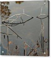Rosey Bridge Acrylic Print