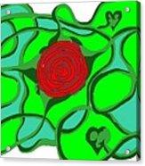 Roseybud Acrylic Print