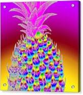 Rosh Hashanah Pineapple Acrylic Print