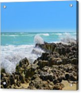 Ross Witham Beach Hutchinson Island Florida Acrylic Print