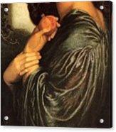 Rossetti Dante Gabriel - Proserpine End Dante Gabriel Rossetti Acrylic Print