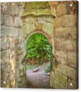 Rosslyn Castle Forest Entry Acrylic Print