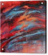 Rosy Glow Acrylic Print