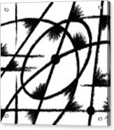 Rotation Axis Acrylic Print