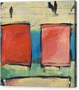 Rothko Meets Hitchcock Acrylic Print