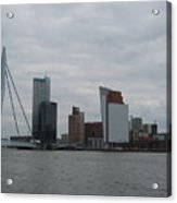 Rotterdam What A View Acrylic Print