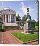 Rotunda, University Of Virginia Acrylic Print