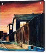 Rouge Alley Acrylic Print