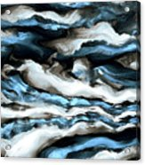 Rough Sea Acrylic Print