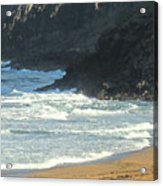 Rough Shores Acrylic Print