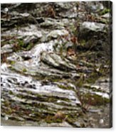 Rough Timeworn Rhythm Along The Kaaterskill Creek Acrylic Print