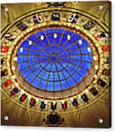 Round And Glossy Acrylic Print