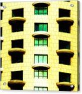 Round Balconies Acrylic Print