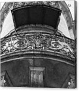 Round Balcony In France Acrylic Print