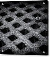 Round Peg Square Hole Acrylic Print