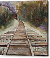 'round The Bend Acrylic Print
