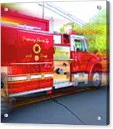 Round Top Vol. Fire Co. Inc. New York 7 Acrylic Print