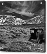 Round Valley Relic Revisited Acrylic Print
