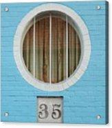 Round Window Acrylic Print