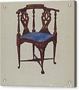 Roundabout Chair Acrylic Print
