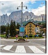 Roundabout Cortina D'ampezzo  Acrylic Print
