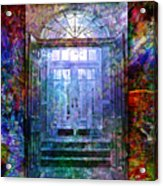 Rounded Doors Acrylic Print