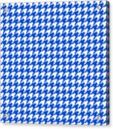 Rounded Houndstooth White Pattern 18-p0123 Acrylic Print
