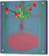 Rouseau Flowers Acrylic Print