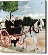 Rousseau: Cart, 1908 Acrylic Print