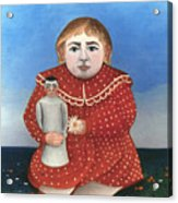 Rousseau: Child/doll, C1906 Acrylic Print