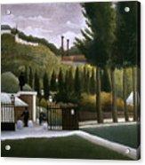 Rousseau: House, C1900 Acrylic Print