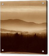 Route 120 Vermont View Acrylic Print