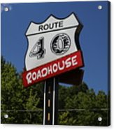 Route 40 Roadhouse Acrylic Print