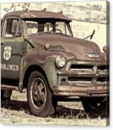 Route 66 Chevy Tumbleweed - #3 Acrylic Print