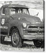 Route 66 Chevy Tumbleweed - #5 Acrylic Print