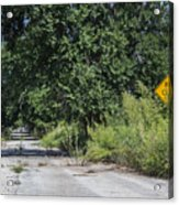 Route 66  End Of The Road Acrylic Print