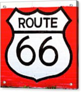 Route 66 Mural Acrylic Print