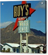 Route 66 - Roy's Of Amboy California 2 Acrylic Print
